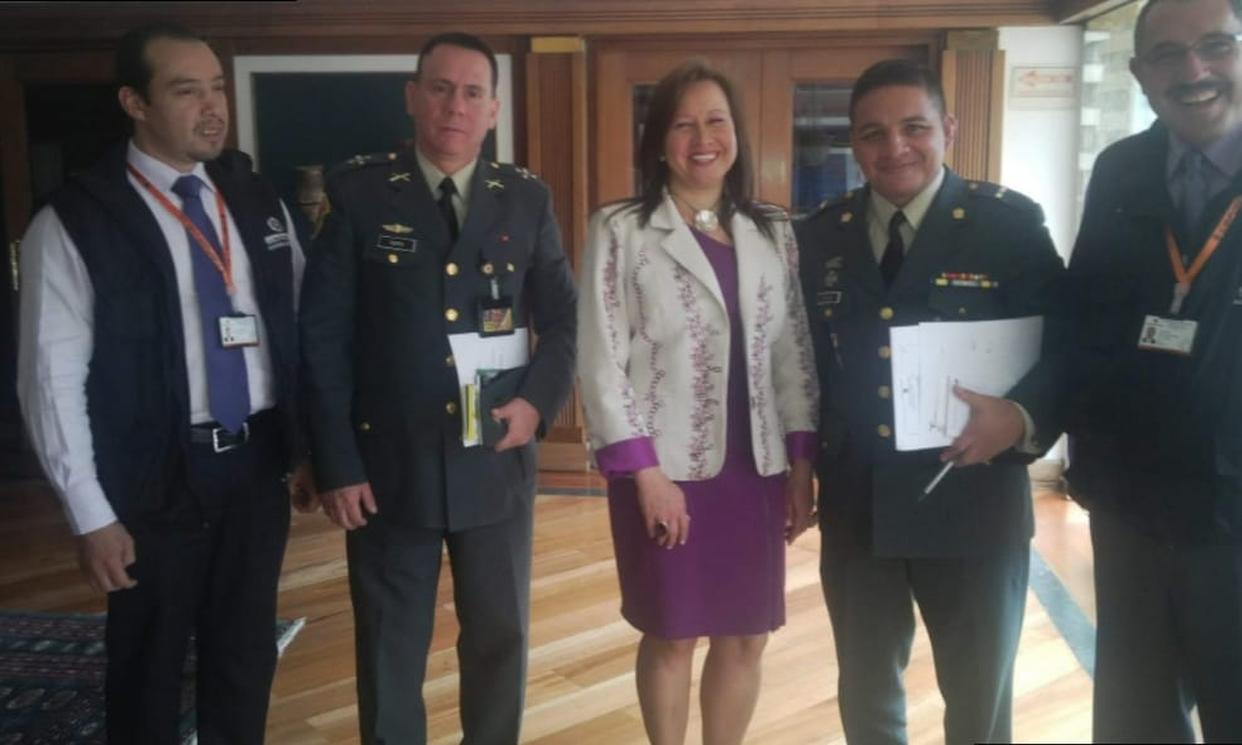 Reunión en Fenalco Presidencia con el personal de DCCA