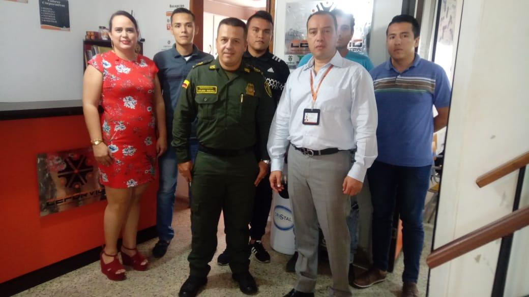 VISITA DE LA RED DE APOYO AGENCIA CUCUTA