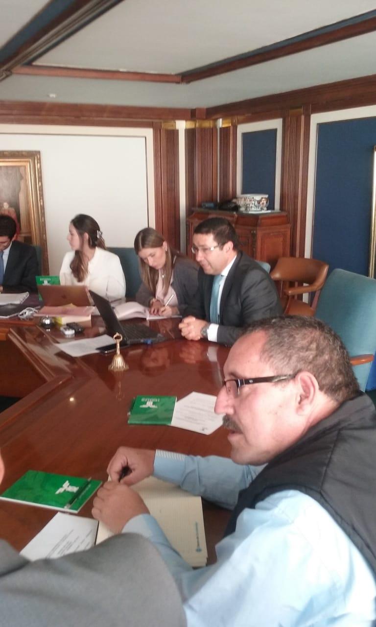 REUNION EN FENALCO – PRESIDENCIA NACIONAL CON EL SUPERINTENDENTE DE VIGILANCIA