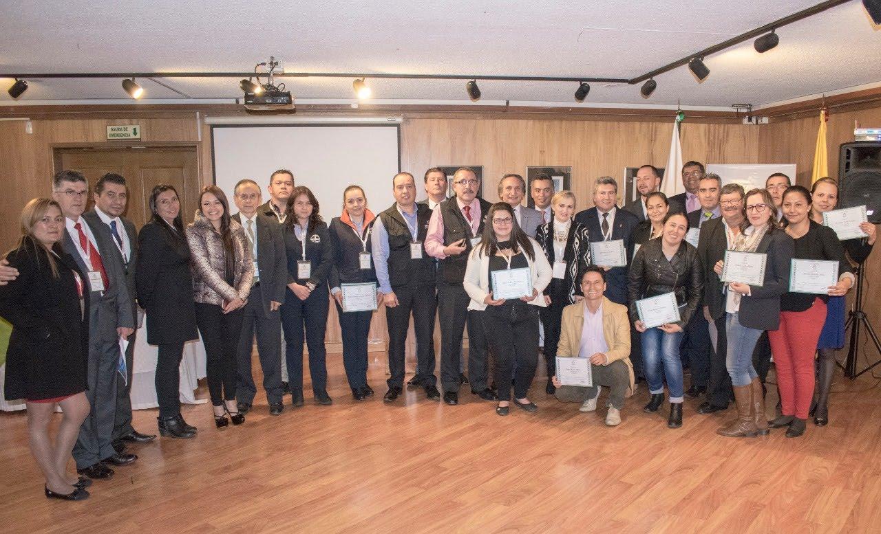 Bogotá Reunión de Academias por Parte de Acasep en la Casa España