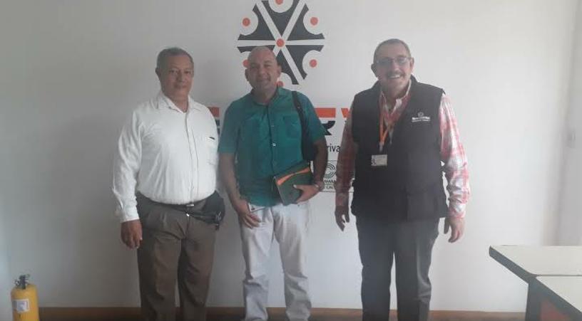 Agencia Cali visita coordinador de Vigilancia Santafereña