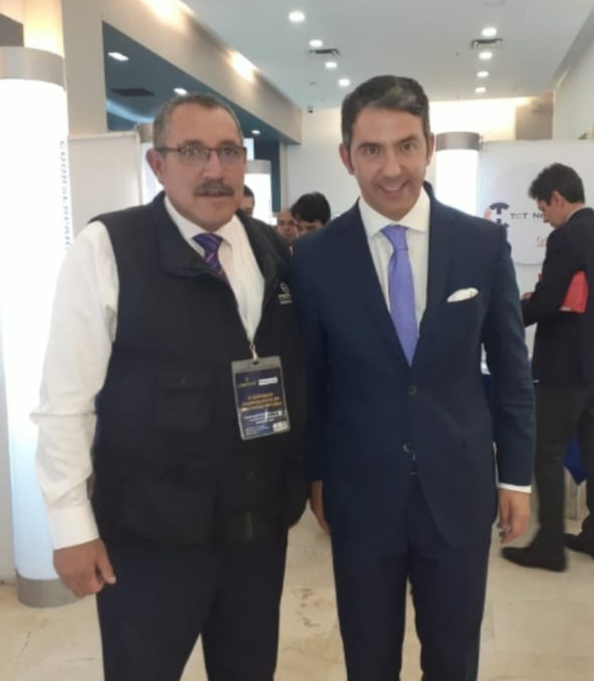 CEFORVIG Ltda. con el doctor JOSÉ ANDRÉS O'MEARA RIVEIRA director general de la agencia nacional de contratación pública – Colombia Compra Eficiente.