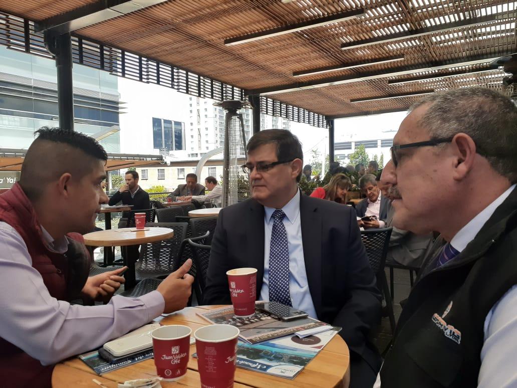 Reunión informal con el superintendente de vigilancia – Asoguarda – Ceforvig Ltda