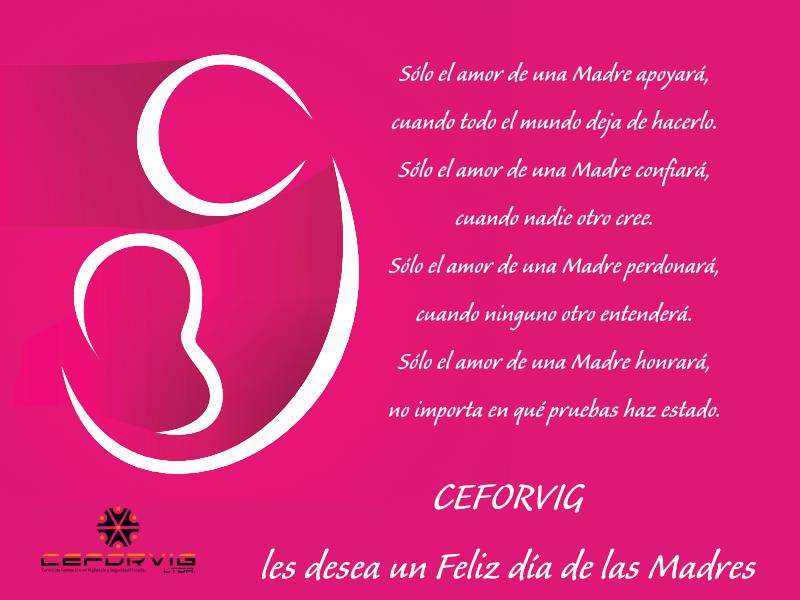 Feliz día de la Madres