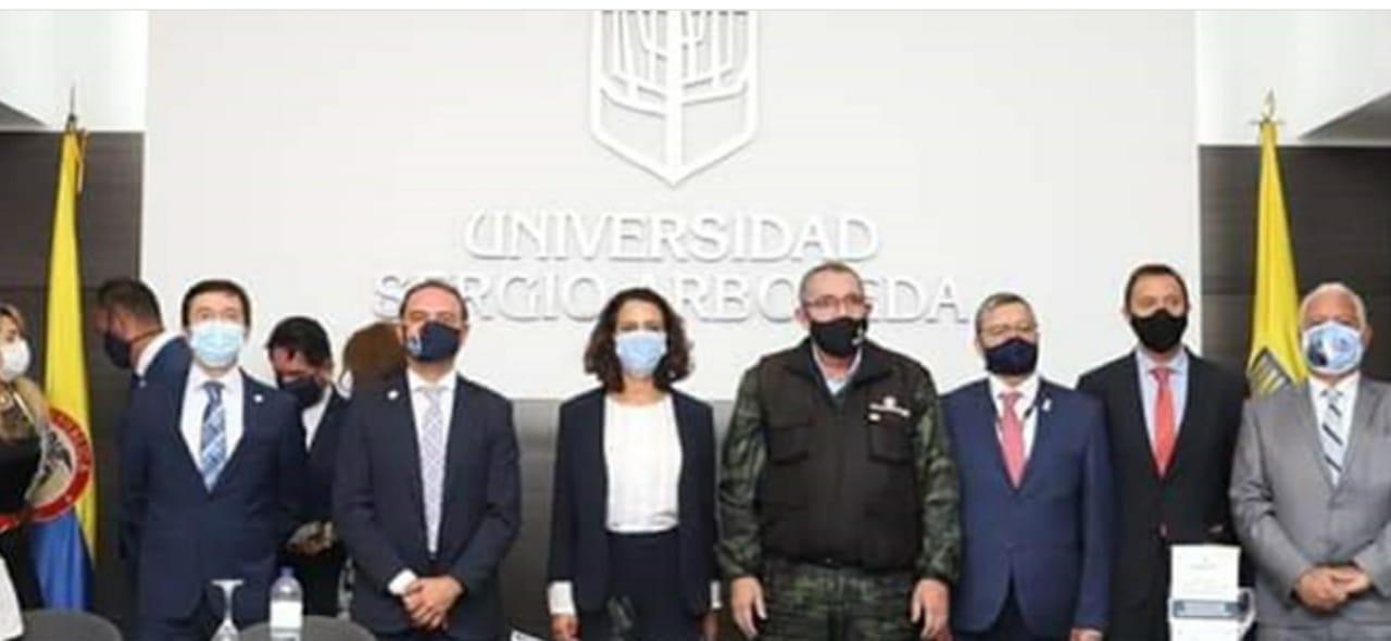 Doctora Nancy Patricia Gutierrez Exministra del Interior y ahora Alta consejera Presidencial