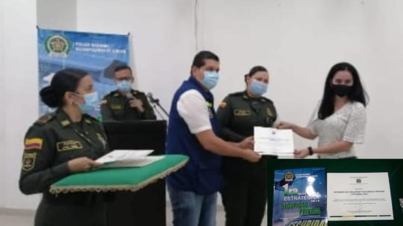 CUCUTA: 1RA Mesa técnica estratégica de la seguridad privada, con la policía MECUC