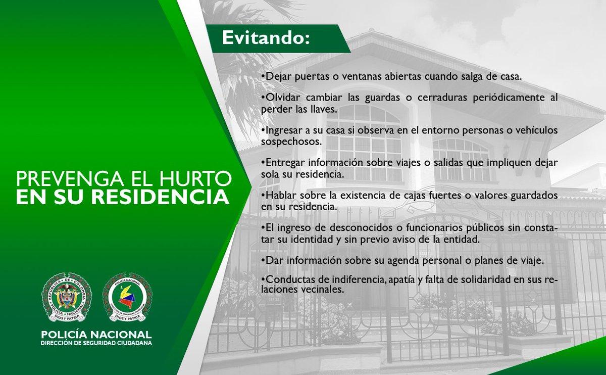 PREVENGA EL HURTO A RESIDENCIA