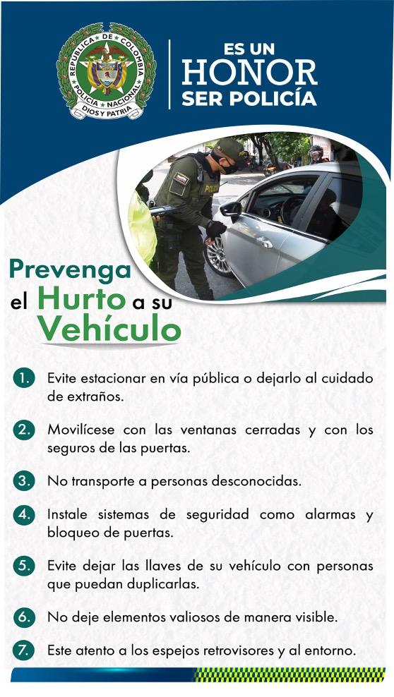 PREVENCION HURTO DE VEHICULO