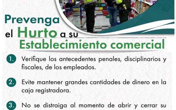 PREVENCION HURTO DE COMERCIOS